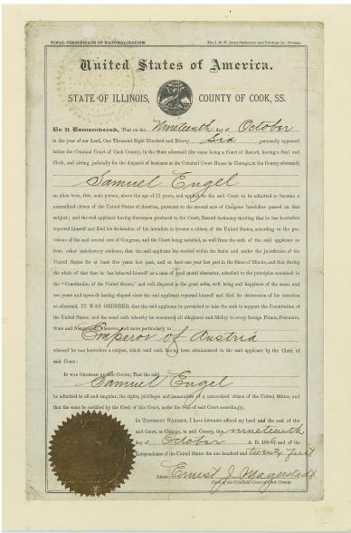 SamuelEngel-naturalization